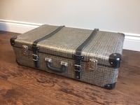 Vintage original suitcase, decorative