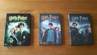 Lot de 3 Dvd Harry Potter