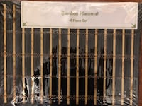 "New - Bamboo Placemats, Set of 4, Black, 13x17"" Baltimore, 21236"