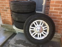 2010 F-150 Lariat 6 bolt, tires and rims with sensors London, N6M 1K6