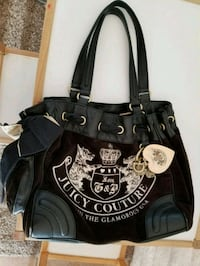 black and white Juicy Couture leather tote bag Tucson, 85747