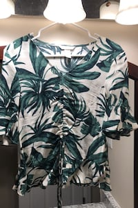 Tropical H&M Shirt - Size 0
