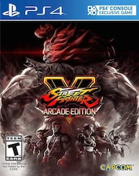 Street Fighter V Arcade Edition PS4 Toronto, M4Y 1N9
