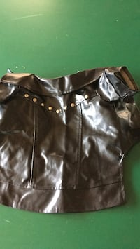 black leather zip-up jacket Mission Viejo, 92691