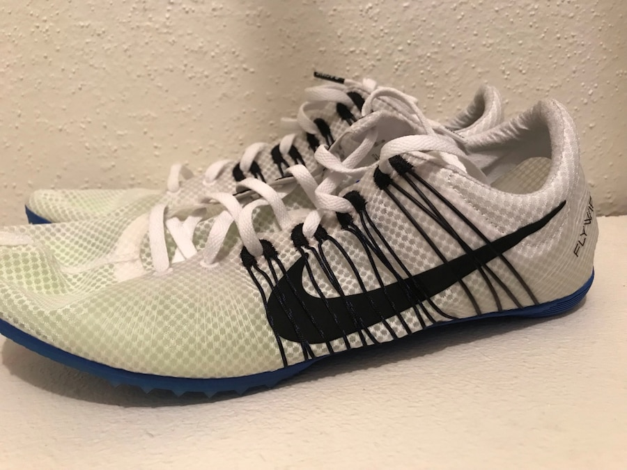 Nike Zoom Victory 2 Unisex Track Spikes Flywire Mid Distance White MSRP $120 NEW