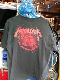 black and red crew-neck shirt Nutley, 07110