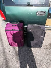 Two suit cases, nice shape, Calgary, T2V 4Y8