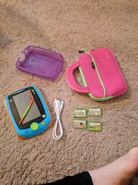 Leap pad glo with four games