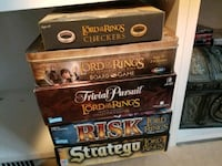 5 Lord of the Rings Board Games