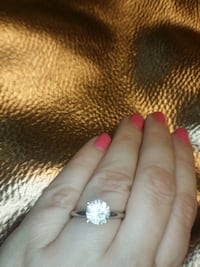1.22 carat solitaire diamond engagement ring 530 mi
