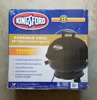 "Kingsford 14"" Kettle Style Portable Grill - Black Oklahoma City"
