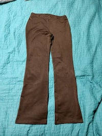 Express Dress pants 7/8 Long tall DARK BROWN Manchester, 03103