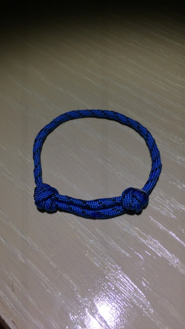 3bc3d1eacba Used blue rope bracelet for sale in Walnut Creek - letgo