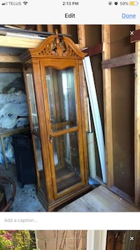 Glass cabinet Barrie, L4M 3C1