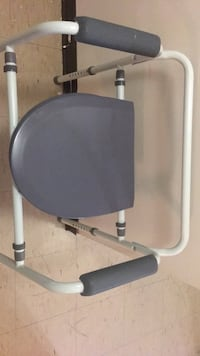 Gray and black exercise equipment for elderly or disabled  Toronto, M5B 2C2