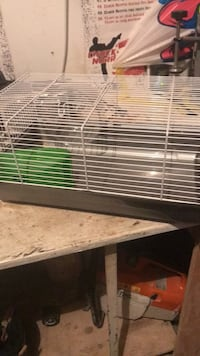 White and green pet cage( hamster) Brampton, L7A 2S6