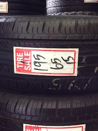 Great pair of used Evergreen Tires 195/65/15 Toronto, M1P 2B4