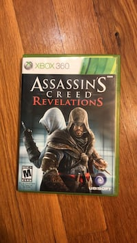 Assassin's Creed Revelations Xbox 360 game case Groton, 06340