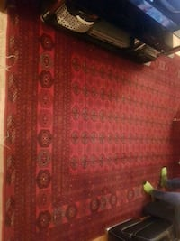 Red Persian rug Markham, L3T 1S6