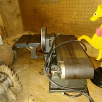 black and gray miter saw Essex, 21221