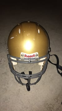 Gold football helmet Sterling, 20165