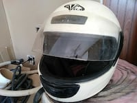 white Vega full-face helmet Roanoke