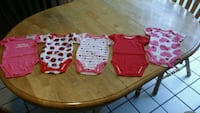 BABY GIRL 3-6 MONTHS CHILDREN'S PLACE ONESIES  Riverview, 33578