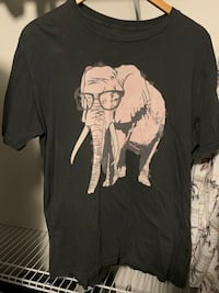 Hipster Elephant T-Shirt Washington, 20007