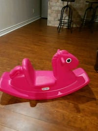 toddler's pink Little Tikes plastic rocking horse Pickering, L1X 1H5