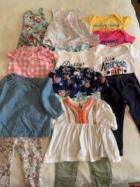 9-12 month baby girl clothing lot Fairfax, 22030