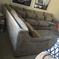 """Modern """"westley sectional"""" gabby furniture, comfortable, removable cushions, like new  Phoenix, 85254"""