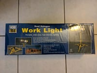Dual halogen worklight with stand - brand new Cerritos, 90703