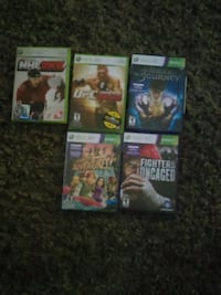 five Xbox 360 game cases Langley, V3A 8L1