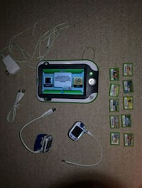 Leap Pad Ultra with 10 games + 2 Leap Watches Hamilton, L9H