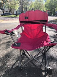 red and black camping chair Crofton, 21114