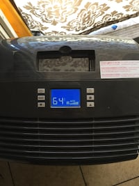 Black and gray portable air cooler Los Angeles, 90037