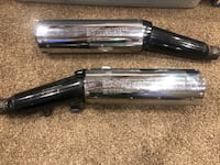 Kawasaki concourse exhaust mufflers, silencers. In very good condition. Wilmington, 19801