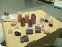 Natural crystal stone $20 each Edmonton, T6J 6S1