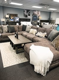 Soft Grey/Brown Sectional (Available for just $40 down with financing) Nashville, 37211