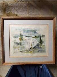 Signed ORIGINAL PAINTING - firm price.