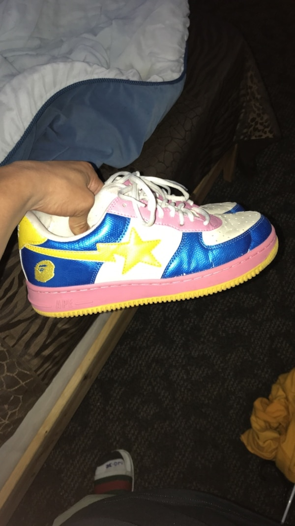 Used BAPE SHOES SIZE 10 NO LOWBALLS DONT COME AT ME IF U AINT GOT THE MONEY  UP FRONT for sale in Simi Valley 26e8adef9
