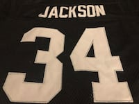 Bo jackson los angeles raiders m&n throwback jeraey size 48 Sparks, 89434