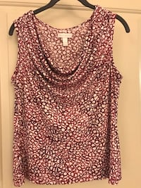 Pink and White Tank Top Columbia, 21044