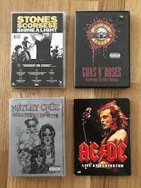Rock DVDs Oslo, 0850