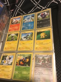 nine assorted Pokemon trading cards St Catharines, L2T 3A4