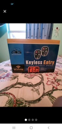 Keyless Entry Vehicle Security System