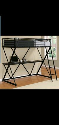 Twin desk bed New York, 10002