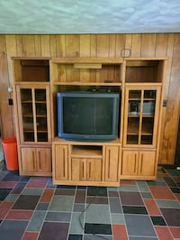 Solid Wood 3 Pc Entertainment Center