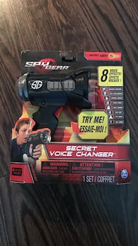 Spy Gear Secret Voice changer case brand new Toronto, M2N 5K3