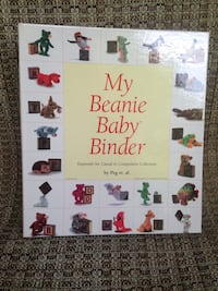 My beanie baby binder book.  Great condition.  Never used. Lutherville Timonium, 21093